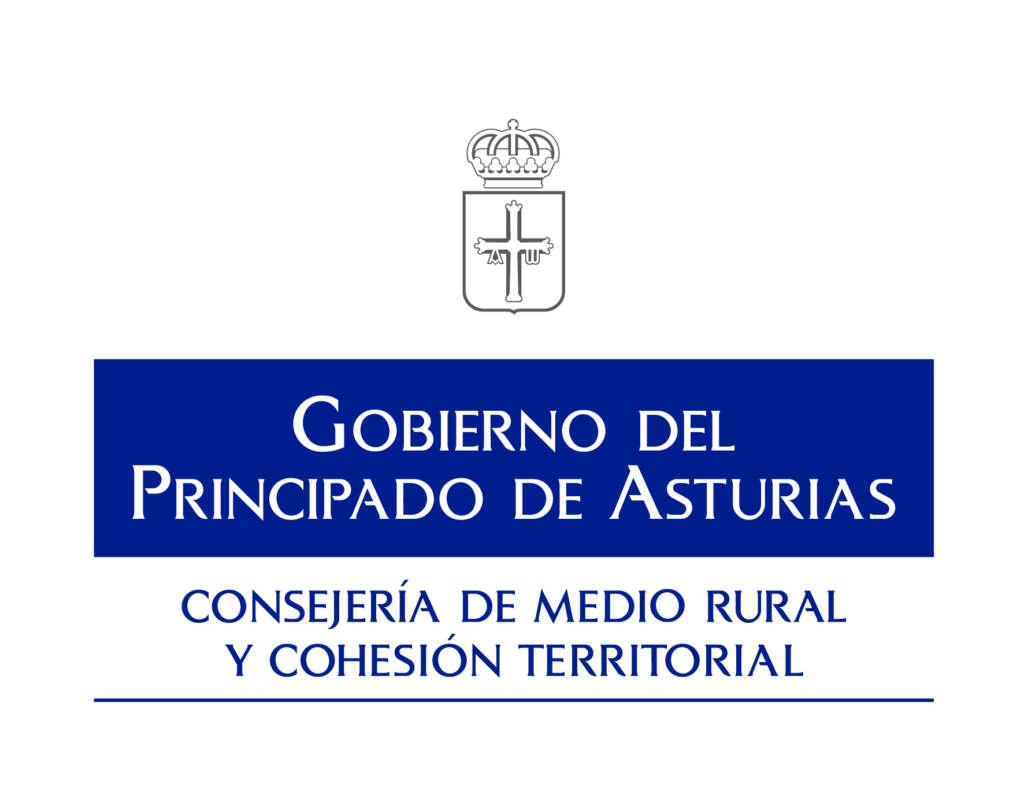 Logo Consejeria de medio rural y cohesion territorial gobierno del principado de asturias